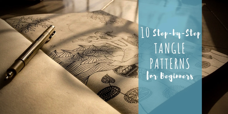 10 step by step tangle patterns for beginners westcoast dreaming